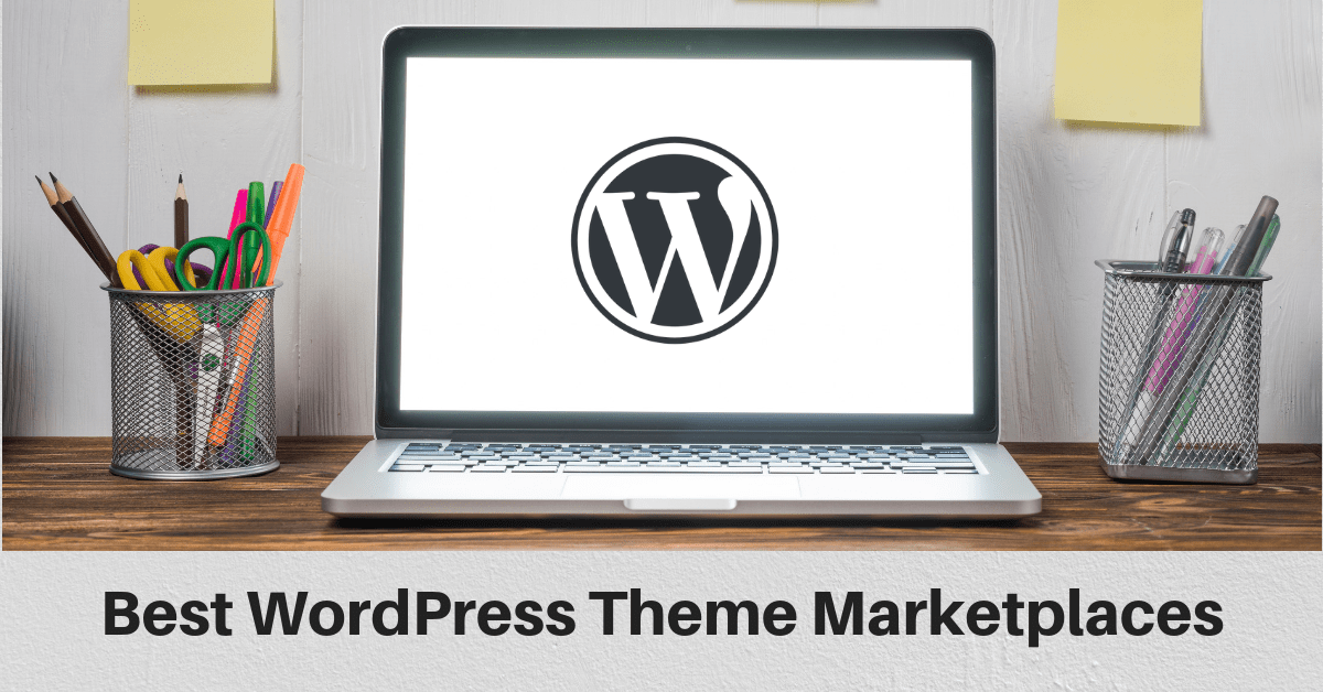 WordPress theme marketplaces