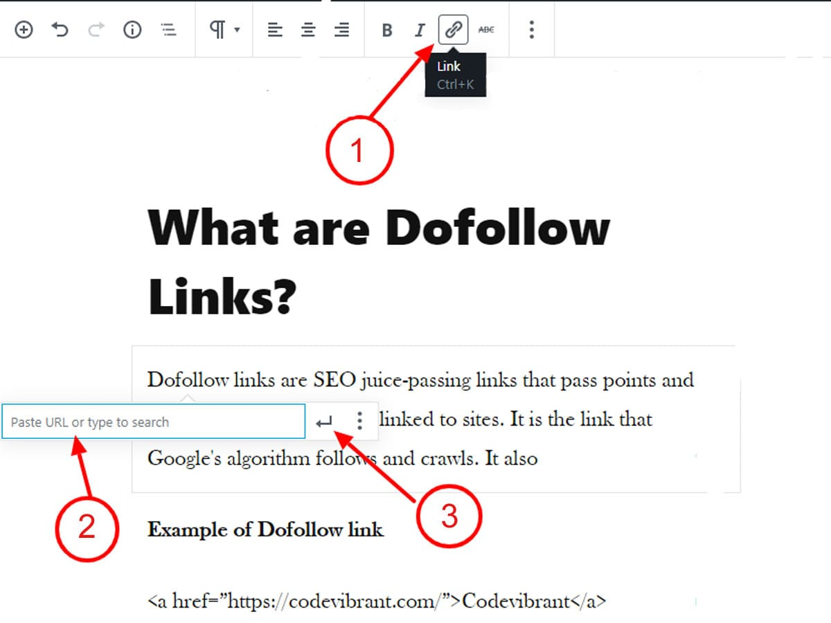 Add-dofollow-and-nofollow-links