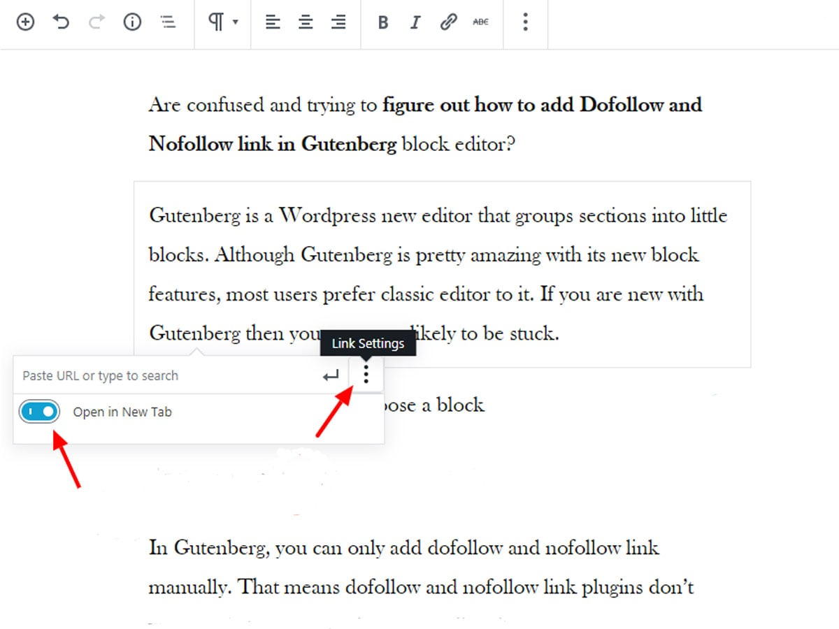 GutenGutenberg-link-open-in-new-tab