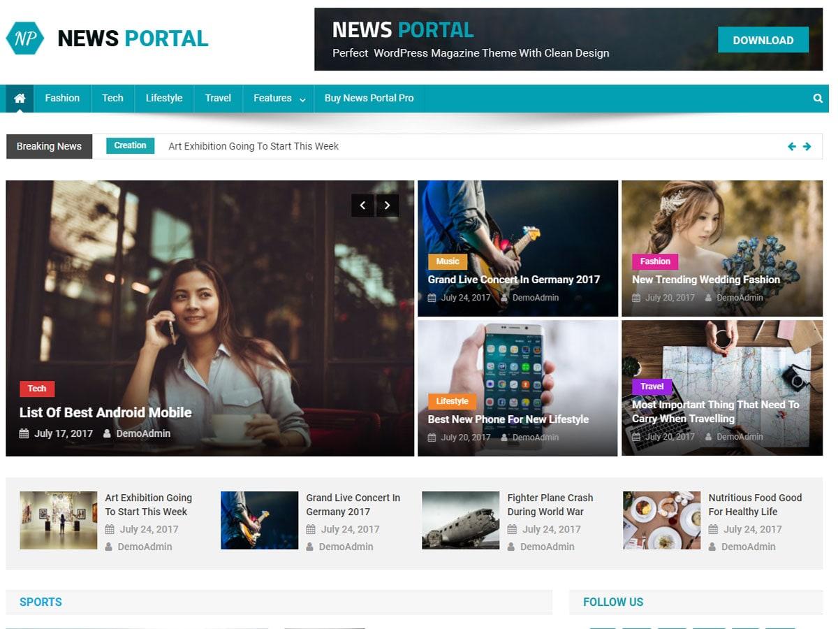 News_Portal_Theme