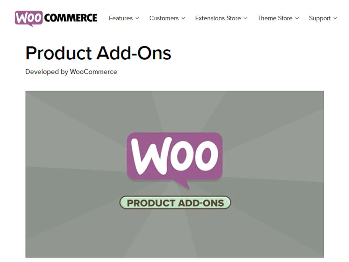 Product-add-ons