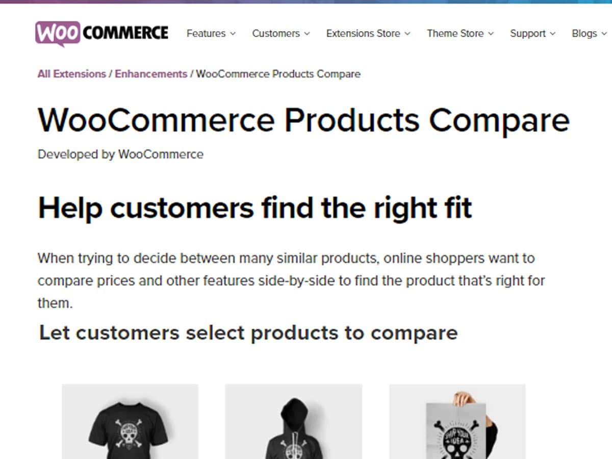 Woocommerce-Products-Compare