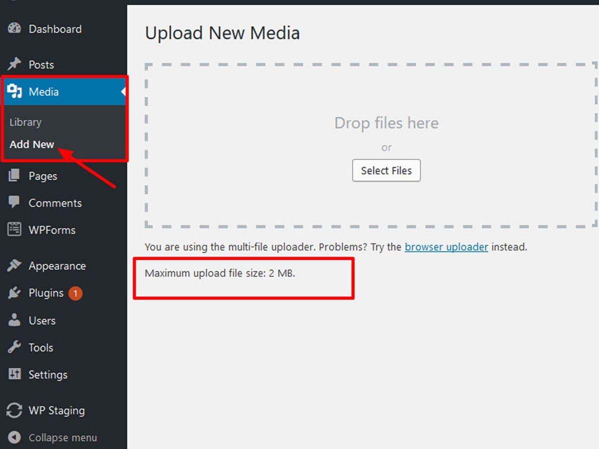 default-maximum-upload-size