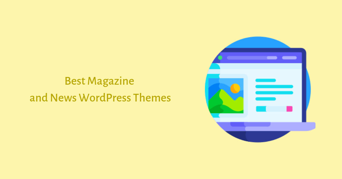 Best Magazine and News WordPress Themes