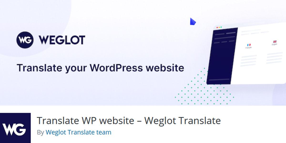 weglot WordPress multilingual plugin
