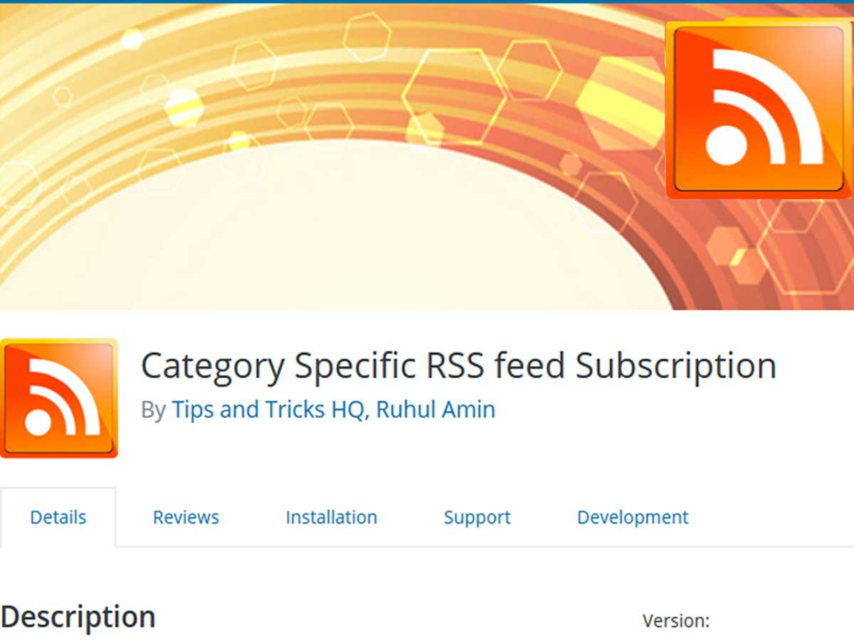 Category-Specific-RSS-feed-Subscription