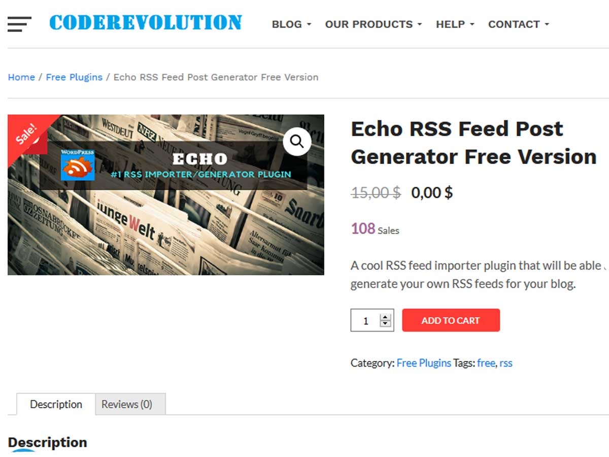 Echo-RSS-Feed-Post-Generator