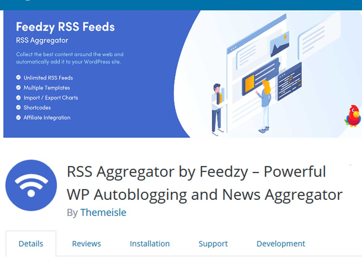 Feedzy-RSS-Feeds