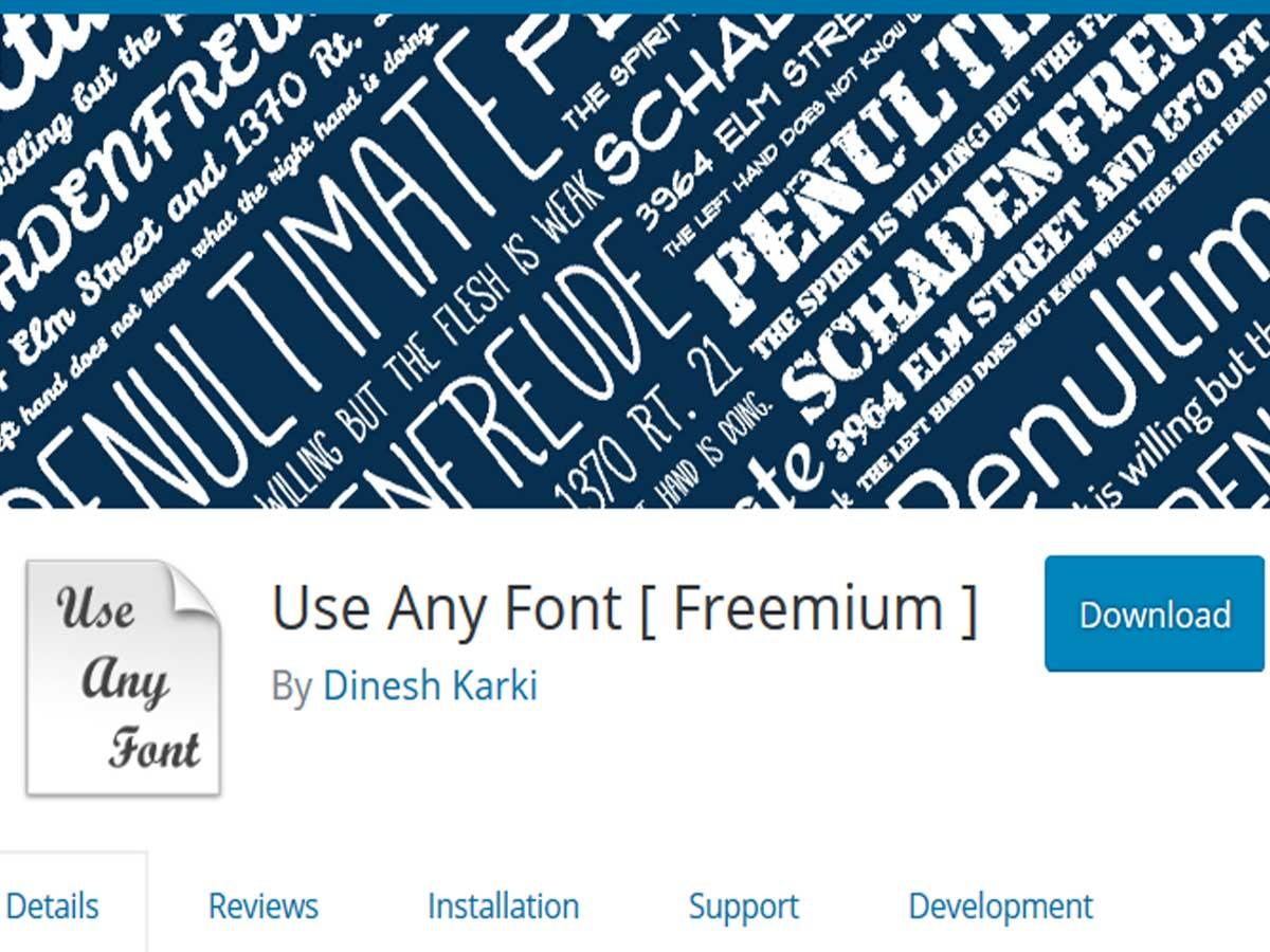 Use-any-Font
