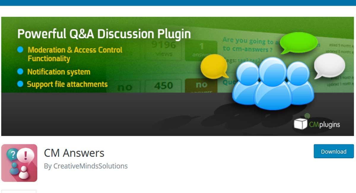 CM-Answer-WordPress-discussion-plugin