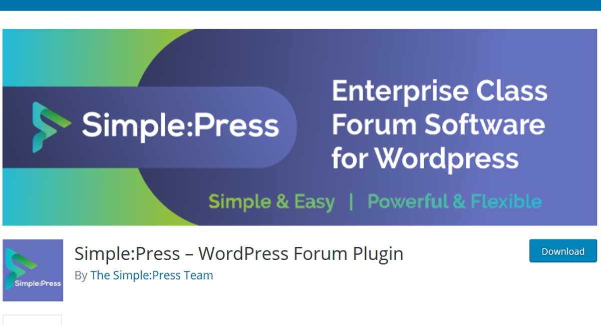 simple:press-forum-plugin-for-WordPress