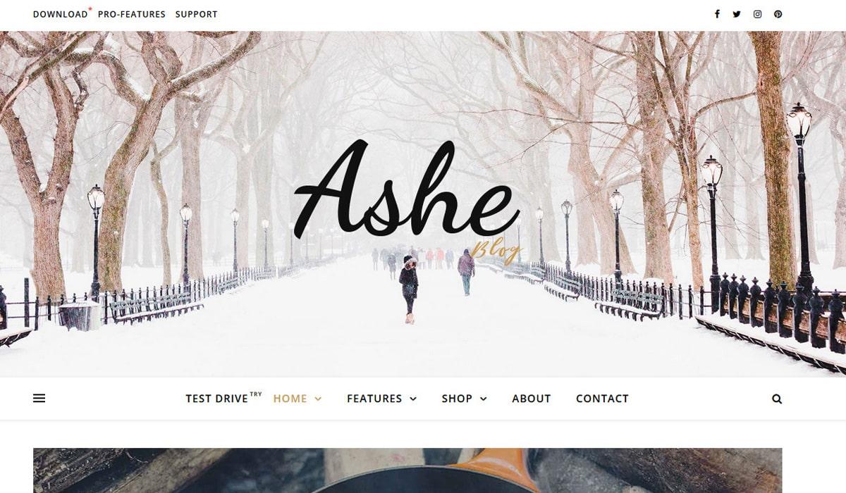 ashe-feminine-theme