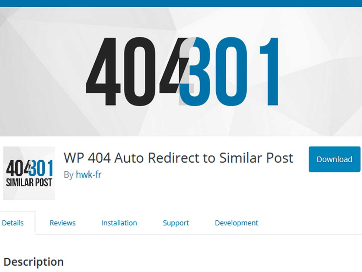 WP-404-Auto-Redirect
