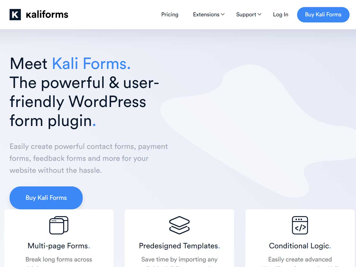 Kali-forms